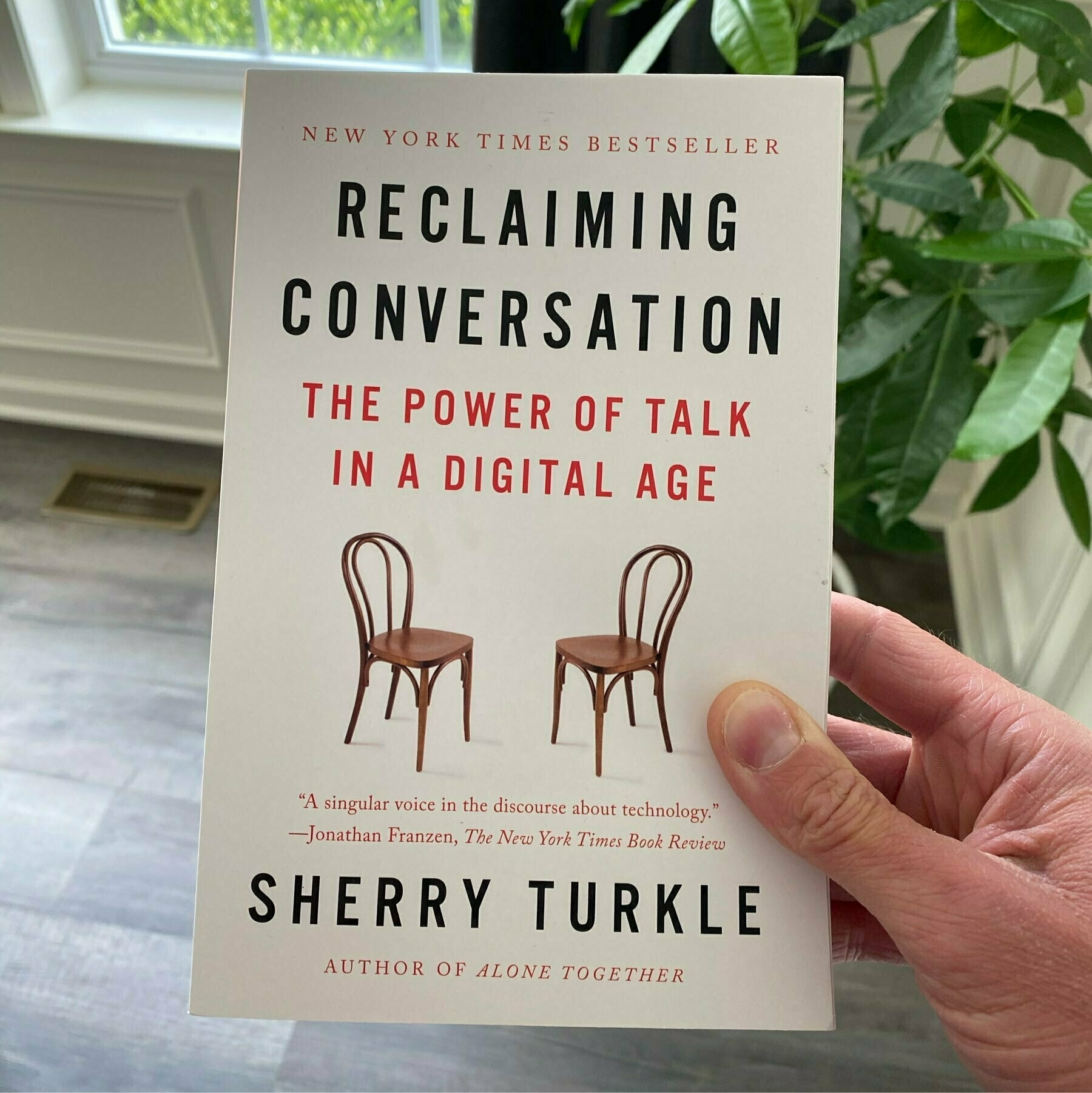 book cover of 'Reclaiming Conversation'