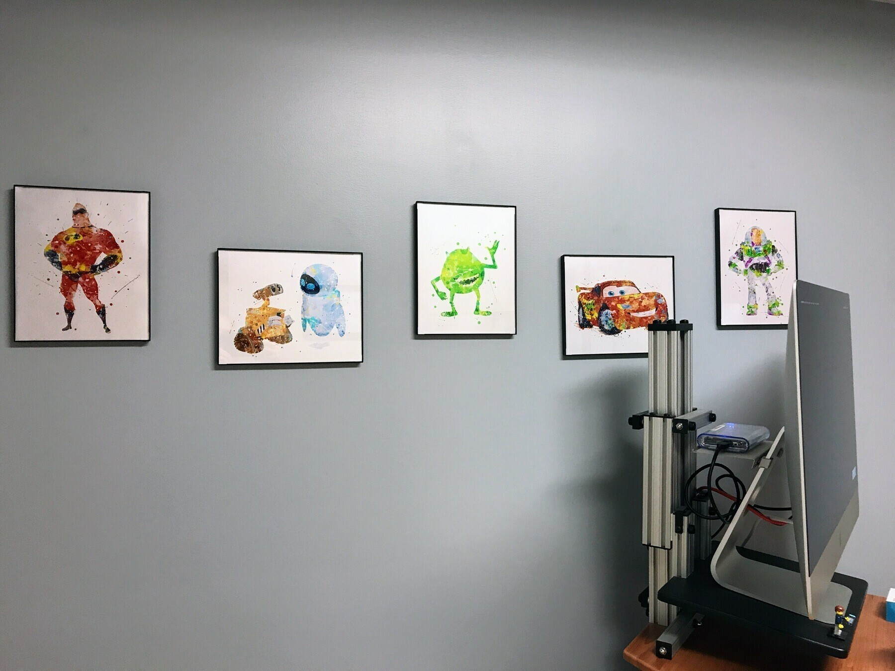 pixar wall prints