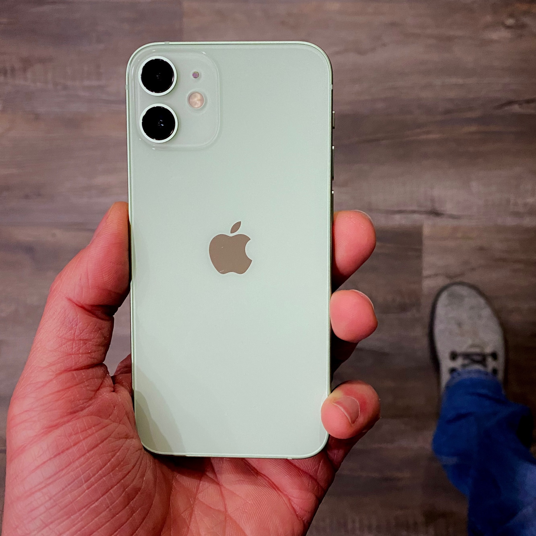 green iPhone 12 mini